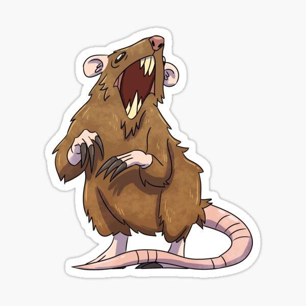 Giant Rat Sticker