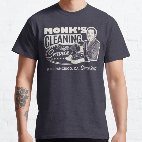 Monk's Cleaning Service Classic T-Shirt