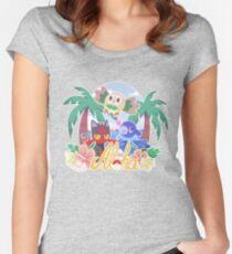 Pokemon Sun & Moon - Aloha Women's Fitted Scoop T-Shirt