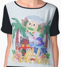 Pokemon Sun & Moon - Aloha Chiffon Top