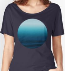 Deep Blue Women's Relaxed Fit T-Shirt