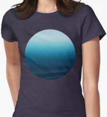 Deep Blue Women's Fitted T-Shirt