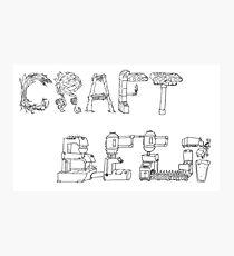 Craft Beer  Photographic Print