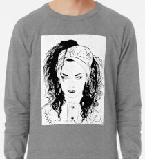 BOY GEORGE (Black & white vers.) Lightweight Sweatshirt