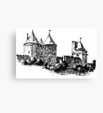 CASTLE - HISTORY Canvas Print