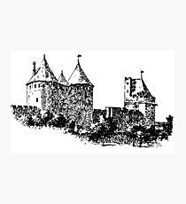 CASTLE - HISTORY Photographic Print