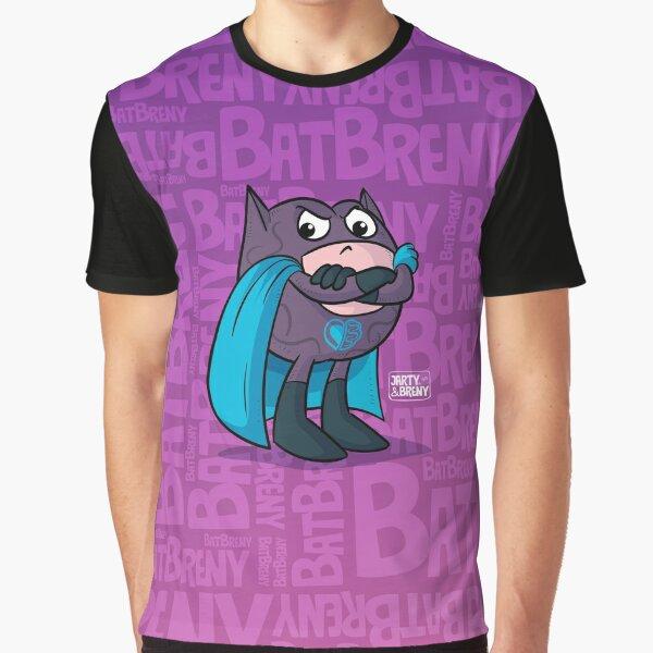 Super Héroe BatBreny Camiseta gráfica