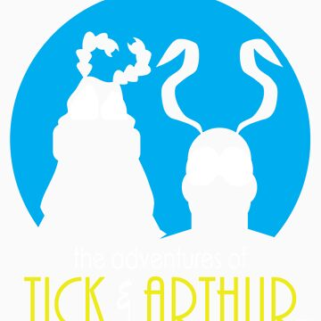 Tick and Arthur by JRBERGER