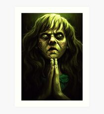An excellent day for an Exorcism. Art Print