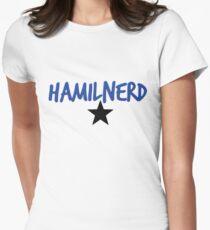 Hamilnerd Star Women's Fitted T-Shirt