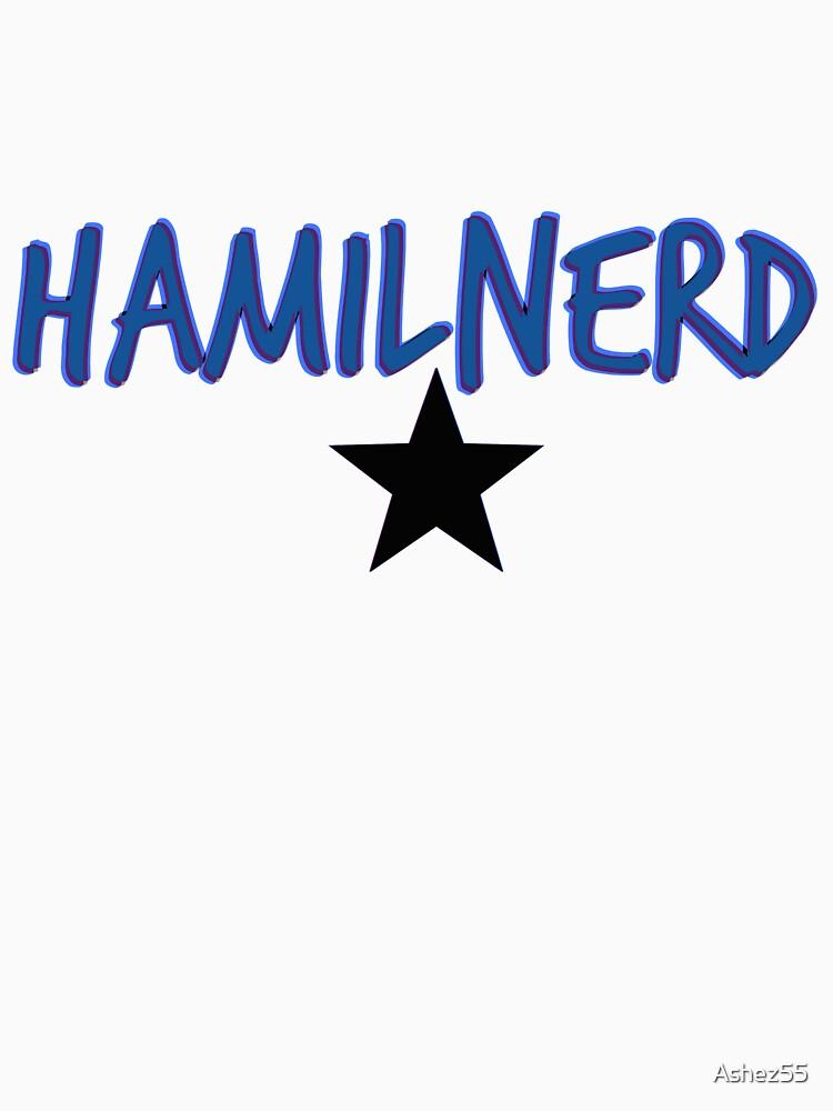 TShirtGifter presents: Hamilnerd Star | Women's T-Shirt