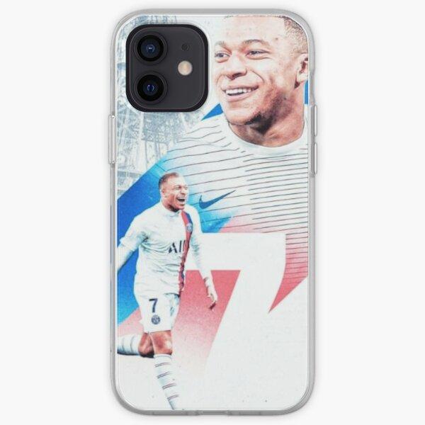 Fond d'écran Mbappe Kylian Coque souple iPhone
