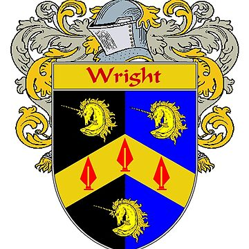 Wright Coat of Arms / Wright Family Crest by IrishArms