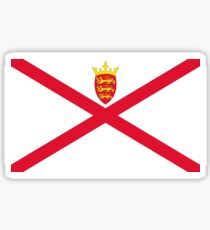Flag of Jersey  Sticker
