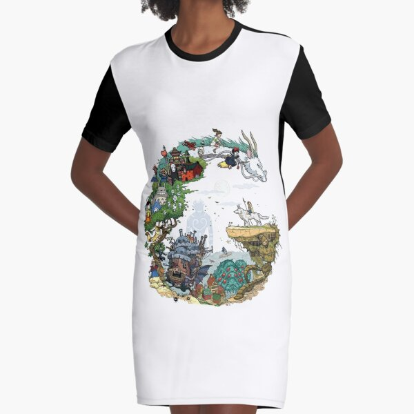 One Graphic T-Shirt Dress