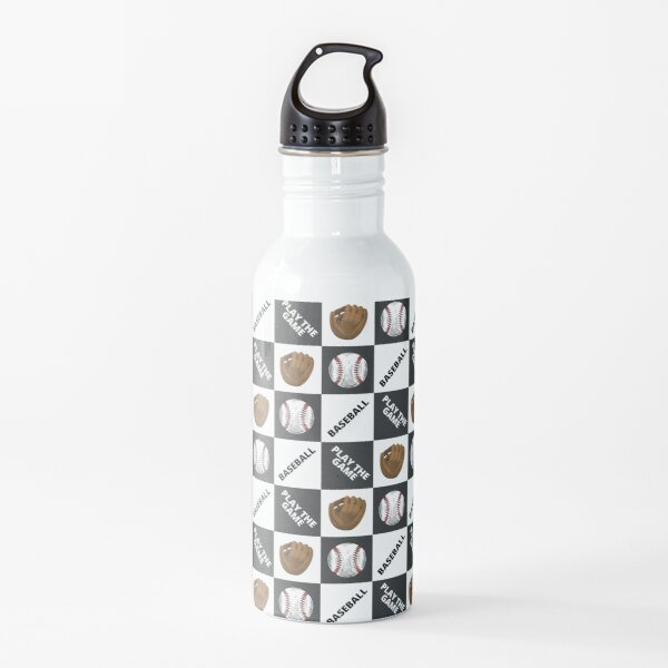 Baseball - Play The Game Water Bottle