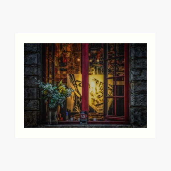 Window of a Painter Art Print