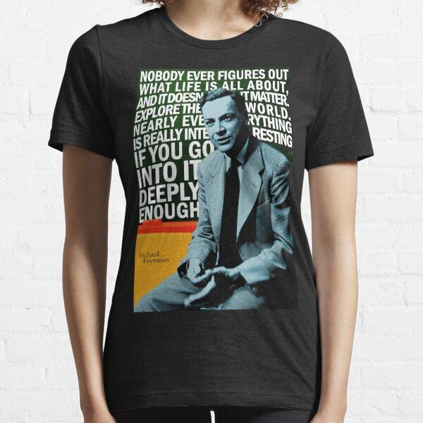 Richard Feynman Essential T-Shirt