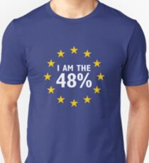 Brexit: I am the 48% Unisex T-Shirt