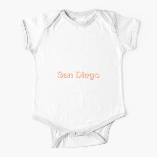 San Diego Short Sleeve Baby One-Piece