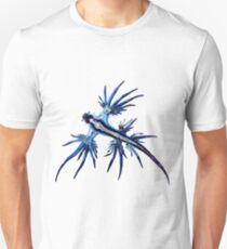Nudibranche bleu T-shirt unisexe
