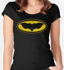 Gotham Gremlin (distressed) Women's Fitted Scoop T-Shirt