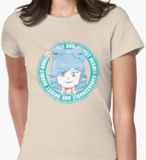 [shirt] unreasonable and unjust hermit Womens Fitted T-Shirt