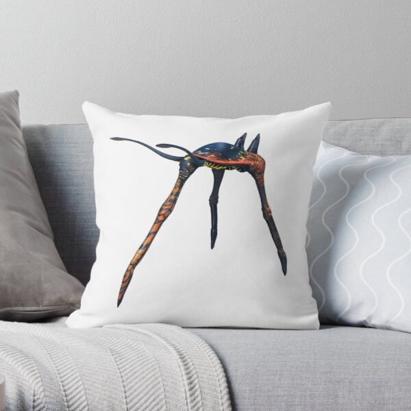 Sea Treader  Throw Pillow