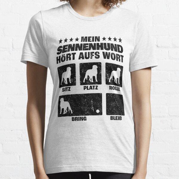 Swiss mountain dog dog tricks dog trainer humor Essential T-Shirt