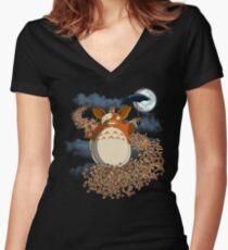 My Mogwai Gizmoro Women's Fitted V-Neck T-Shirt