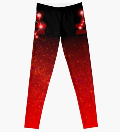 Libra - Red Leggings