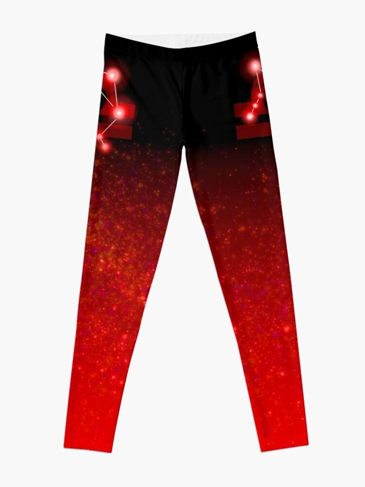 Alternate view of Libra - Red Leggings