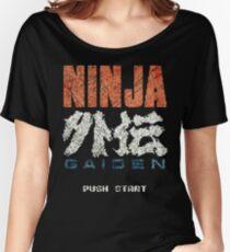 Ninja Gaiden Vintage Emblem Women's Relaxed Fit T-Shirt