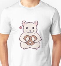 I love you more than this hamster loves pretzels T-Shirt