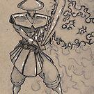 Mystic Blade by ajcink