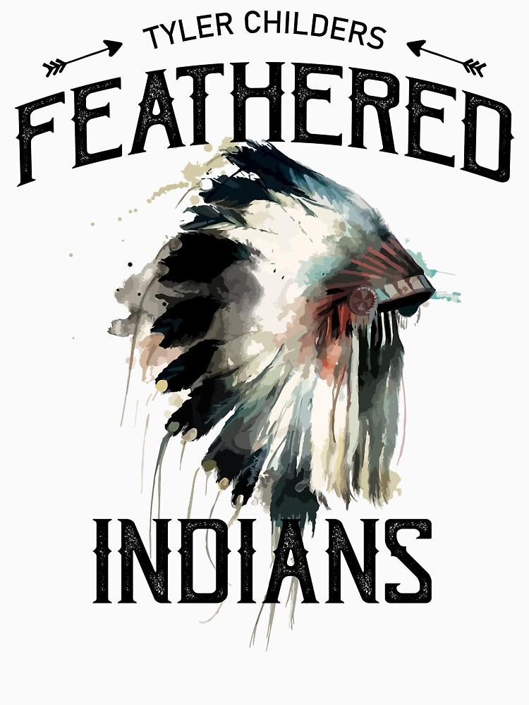 «Indiens à plumes de Tyler Childers» par pouragnqolivier