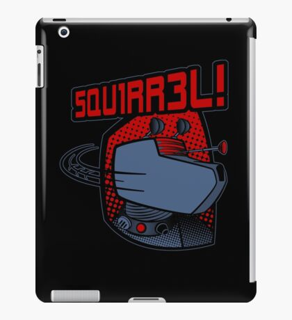SQUIRREL!  iPad Case/Skin