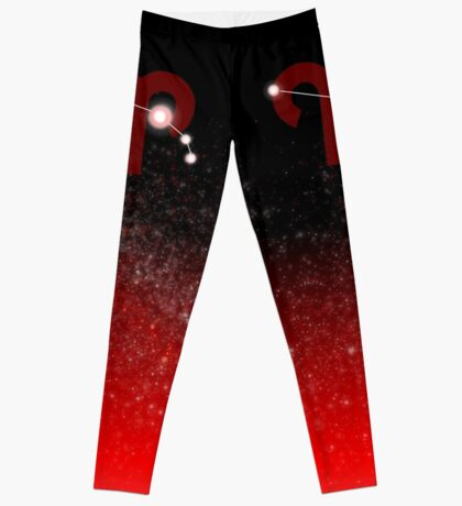 Aries - Red Leggings