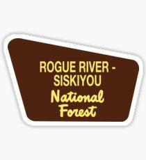 Rogue River - Siskiyou National Forest Sticker