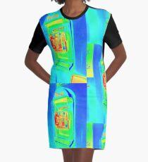 Call Me Graphic T-Shirt Dress
