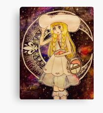 Pokemon Moon - Lillie Canvas Print