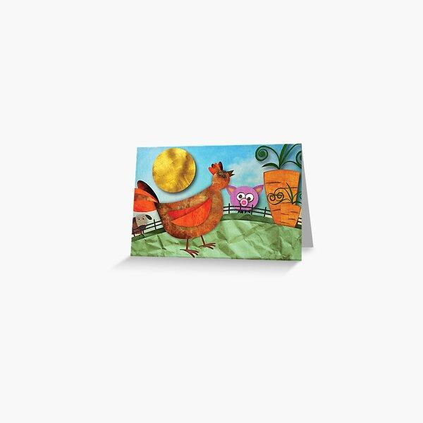 Goldie Greeting Card