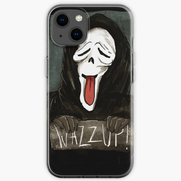 Ghostface Wazzup Classic Color iPhone Soft Case