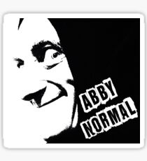 Abby Normal Sticker