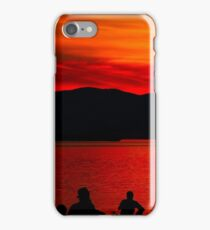 Sunset over English Bay iPhone Case/Skin