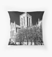 York MInster in the I.R Throw Pillow