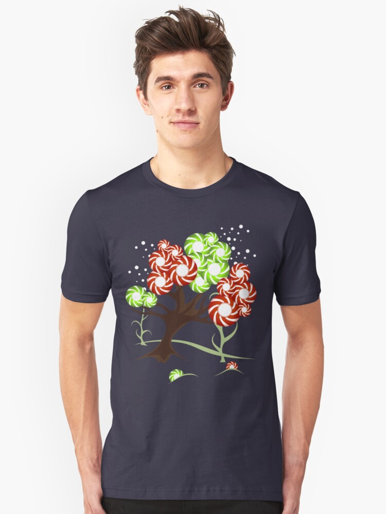Magic Candy Tree - V2 Tee Unisex T-Shirt Front