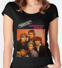 duran duran tour 82 Women's Fitted Scoop T-Shirt