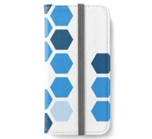 Hex - Blue iPhone Wallet/Case/Skin