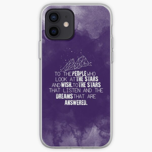 A Court of Mist & Fury - To the people who look at the stars... iPhone Soft Case